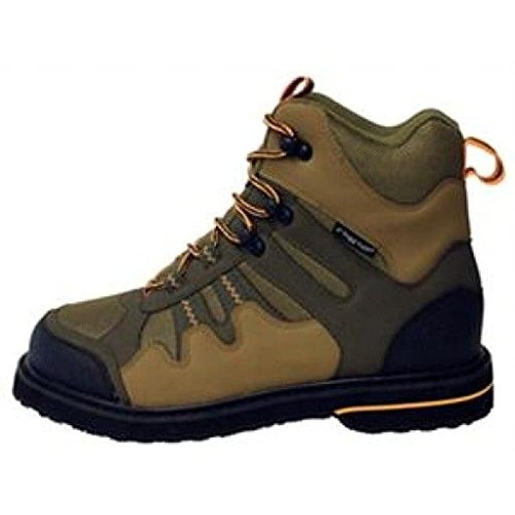 殉教者ペルメル雑多なFrogg Toggs 251171 – 10スティッキーゴムAnura Wading Shoe、キャメルMoss /ストーン、サイズ10