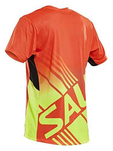 SALMING チャレンジTシャツ (オレンジ)