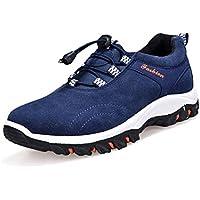 (アメルトン)Amerton トレッキング アウトドア ウォーキング スポーツ シューズ ハイキング 登山 靴 メンズ 黒 青