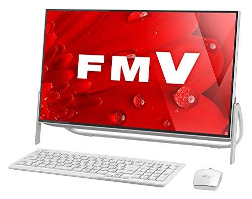 富士通 デスクトップパソコン FMV ESPRIMO FHシリーズ WF1/B1(Windows 10 Home/23.8型ワイド液晶/Core i7/8GBメモリ/約1TB HDD/Office Home and Business Premium/スノーホワイト)AZ_WF1B1_Z232/富士通直販WEBMART専用モデル
