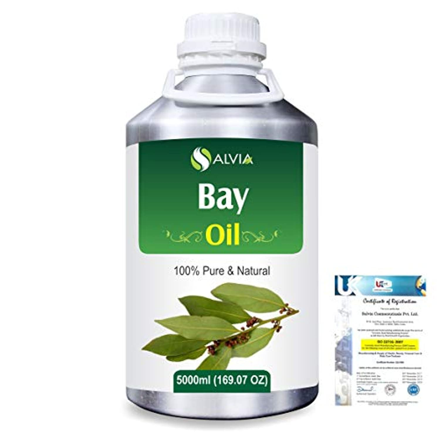 初期の包帯こどもセンターBay (Pimento racemosa) 100% Natural Pure Essential Oil 5000ml/169fl.oz.