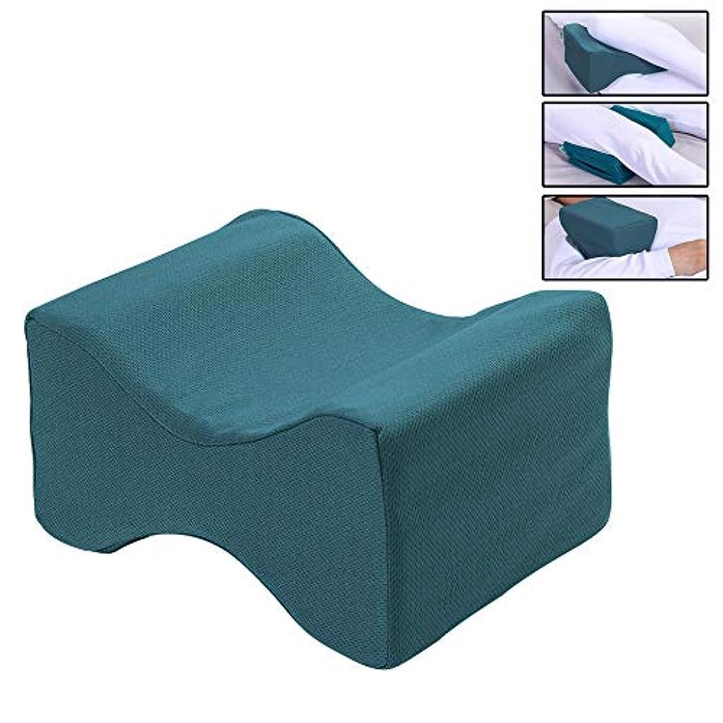 規範感情しみサイドスリーパー用膝枕、坐骨神経痛、ヒップ、 不穏下肢症候群、 足首 捻挫 & 関節痛 -プレミアムメモリフォームウェッジピロー