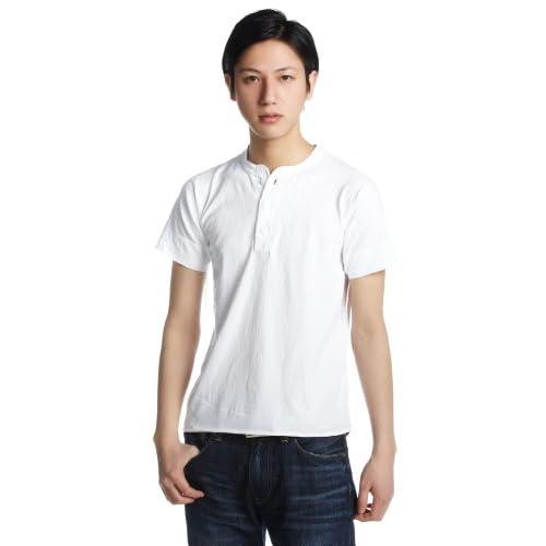 (ヘルスニット)HEALTHKNIT Henley Short Sleeve #906S White White M