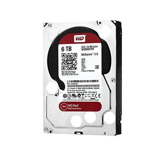 WD HDD 内蔵ハードディスク 3.5インチ 6TB WD Red NAS用 WD60EFRX 5400rpm 3年保証
