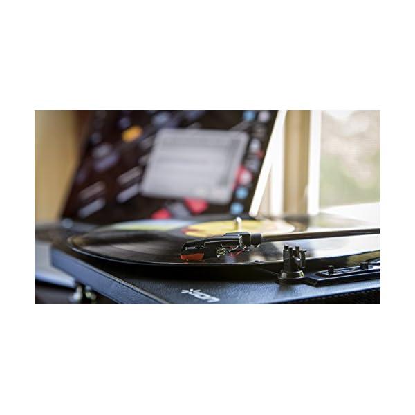 ION Audio Compact LP 革張...の紹介画像3