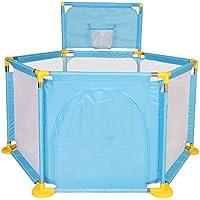 ベビープレイペン 青ボールプール/フェンス屋外ゲーム保護子供屋内赤ちゃん幼児クロール