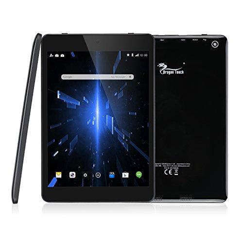 Dragon Touch X80 7.85型 クアッドコアタブレット PC Google Android 6.0 1G/32G IPSディスプレイ 1024x768 デュアルカメラ Bluetooth搭載 一年間保証&日本語説明書付き