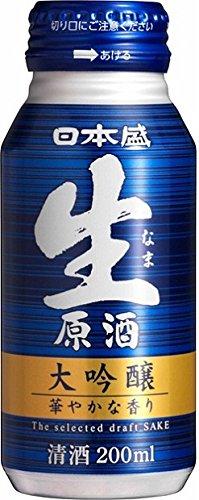日本盛 生原酒 大吟醸 ボトル缶 200ml×30本