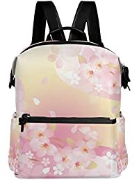 54920d7823bb 旅立の店 リュックサック バックパック さくら 桜の花 綺麗 ポリエステル+レザー ファッション