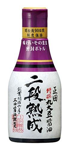 正田醤油 正田 特撰丸大豆醤油 二段熟成(200mL)