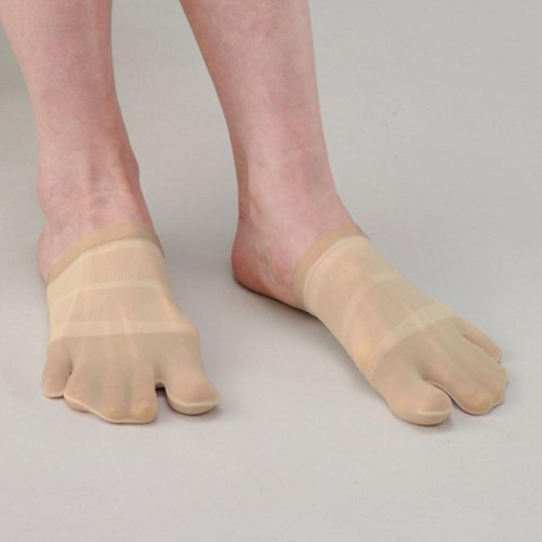 コピーいらいらさせるフォージイイダ靴下 つんく♂プロデュース BODY-K スタイルアップサポーター?楽チンウォーキン フリーサイズ ベージュ