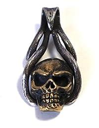 (Silver Frontier) 死霊の王 スカル シルバーペンダント シルバー925 ペンダント トップ メンズ