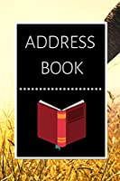 ADDRESS BOOK: Large Print Phone Book & Adresses Book with Tabs