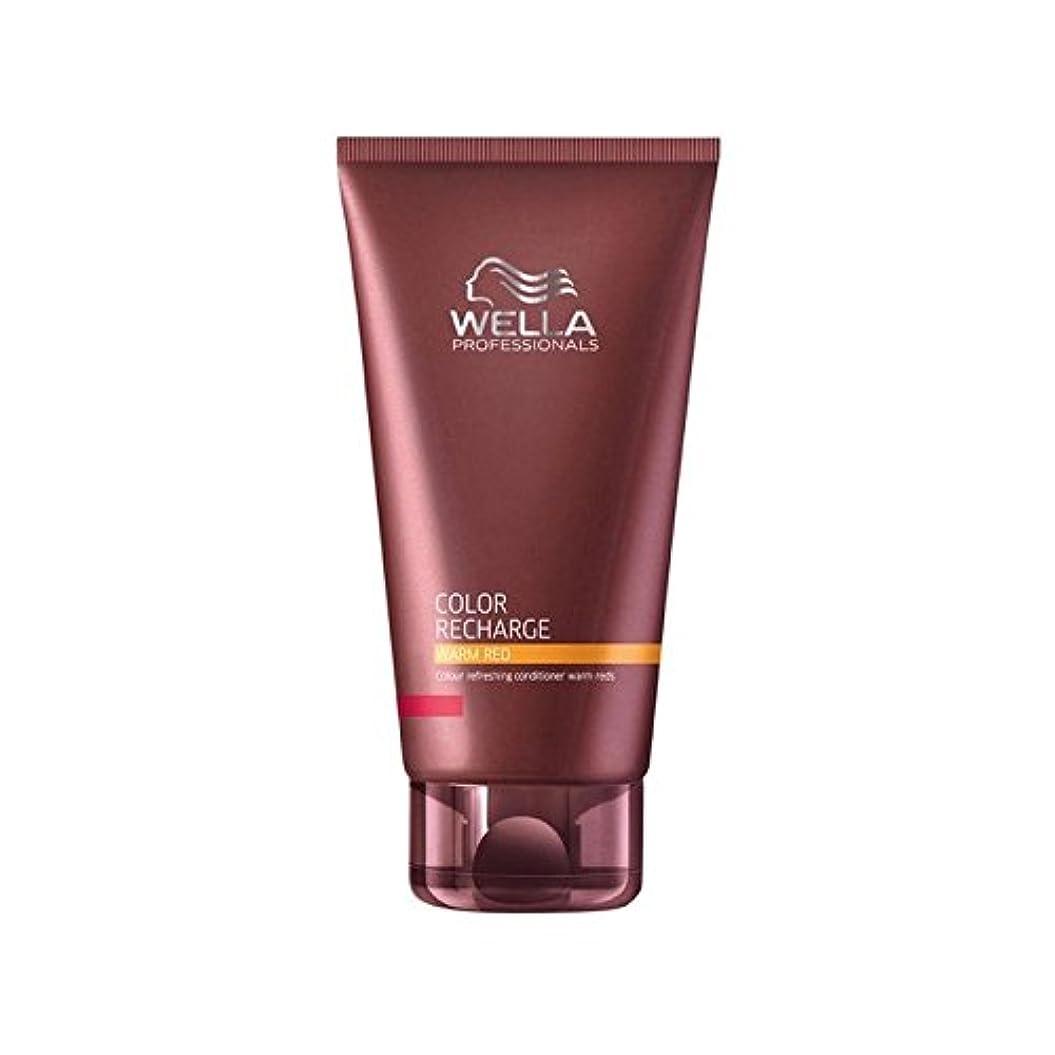 亜熱帯外出手入れWella Professionals Color Recharge Conditioner Warm Red (200ml) - ウエラ専門家のカラー再充電コンディショナー暖かい赤(200ミリリットル) [並行輸入品]