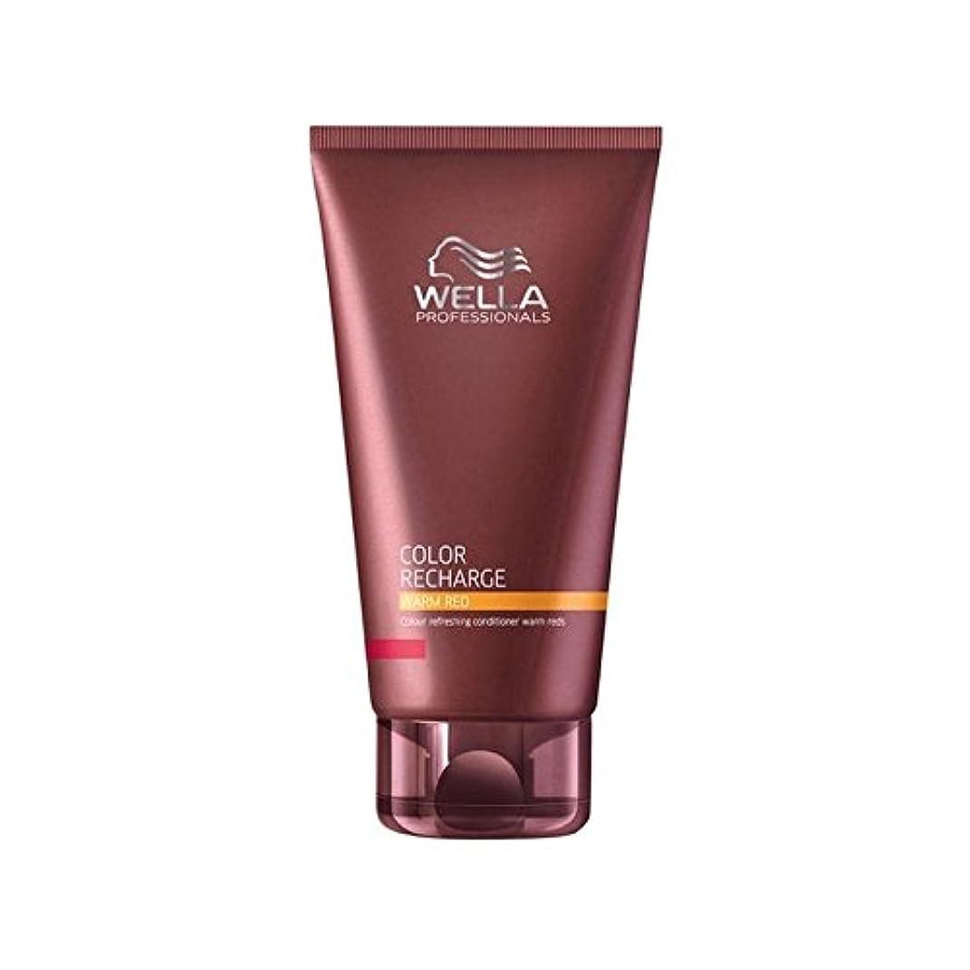 グレードページ計画的Wella Professionals Color Recharge Conditioner Warm Red (200ml) - ウエラ専門家のカラー再充電コンディショナー暖かい赤(200ミリリットル) [並行輸入品]