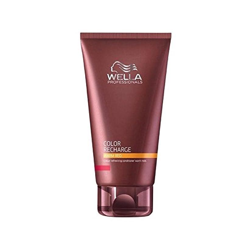 喜ぶ隔離する移住するWella Professionals Color Recharge Conditioner Warm Red (200ml) - ウエラ専門家のカラー再充電コンディショナー暖かい赤(200ミリリットル) [並行輸入品]