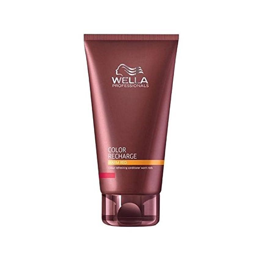 沈黙希望に満ちた生産性Wella Professionals Color Recharge Conditioner Warm Red (200ml) - ウエラ専門家のカラー再充電コンディショナー暖かい赤(200ミリリットル) [並行輸入品]