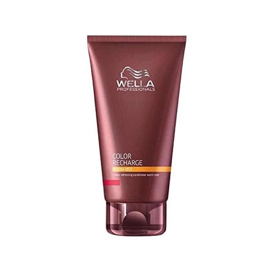 ロータリーサラダ独立Wella Professionals Color Recharge Conditioner Warm Red (200ml) - ウエラ専門家のカラー再充電コンディショナー暖かい赤(200ミリリットル) [並行輸入品]