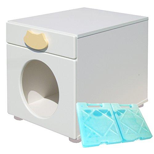 ペットハウス「オアシス 縦置き型」 犬,猫,ペットの暑さ対策、熱中症予防に室内用ひんやりハウス (キャット)