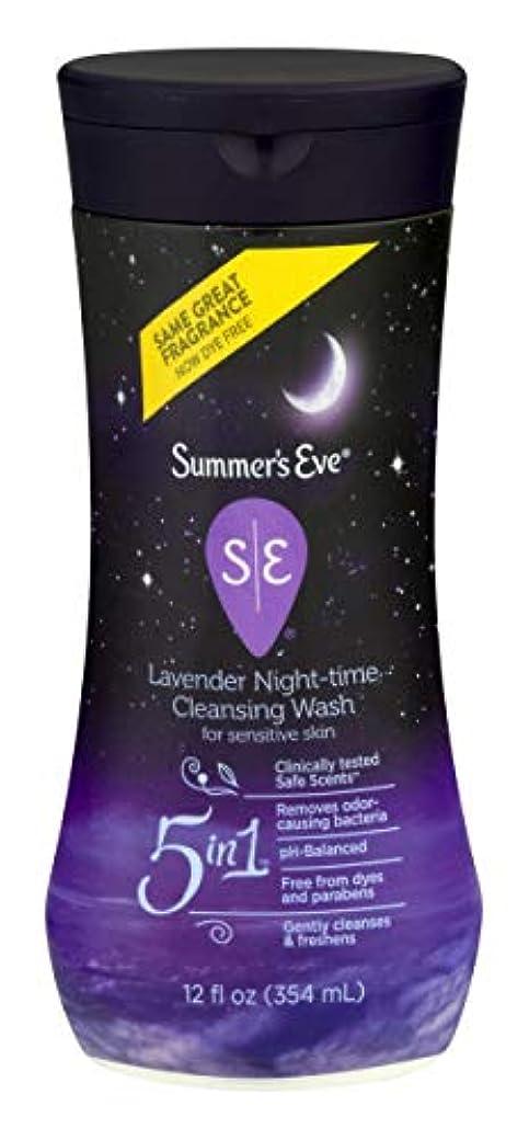 右スクラップブック燃やすSummer's Eve Night-Time Cleansing Wash, Lavender, 12 Ounce by Summer's Eve