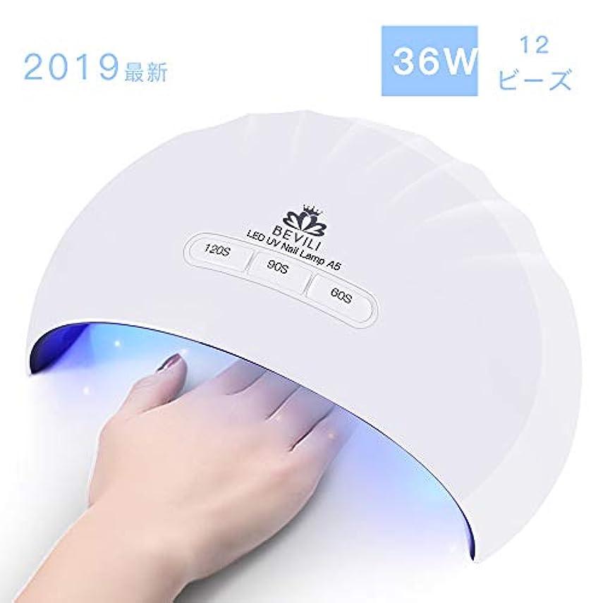 拘束するお母さんナチュラ硬化用UV/LEDライトジェルネイルライト 肌をケア センサータイマー付き UVライト 速乾UV ネイル ハンドフット両用 ネイル led ライト USB対応