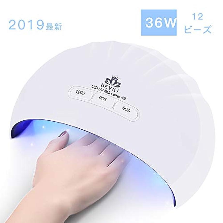 シャンプー腹部ひそかに硬化用UV/LEDライトジェルネイルライト 肌をケア センサータイマー付き UVライト 速乾UV ネイル ハンドフット両用 ネイル led ライト USB対応