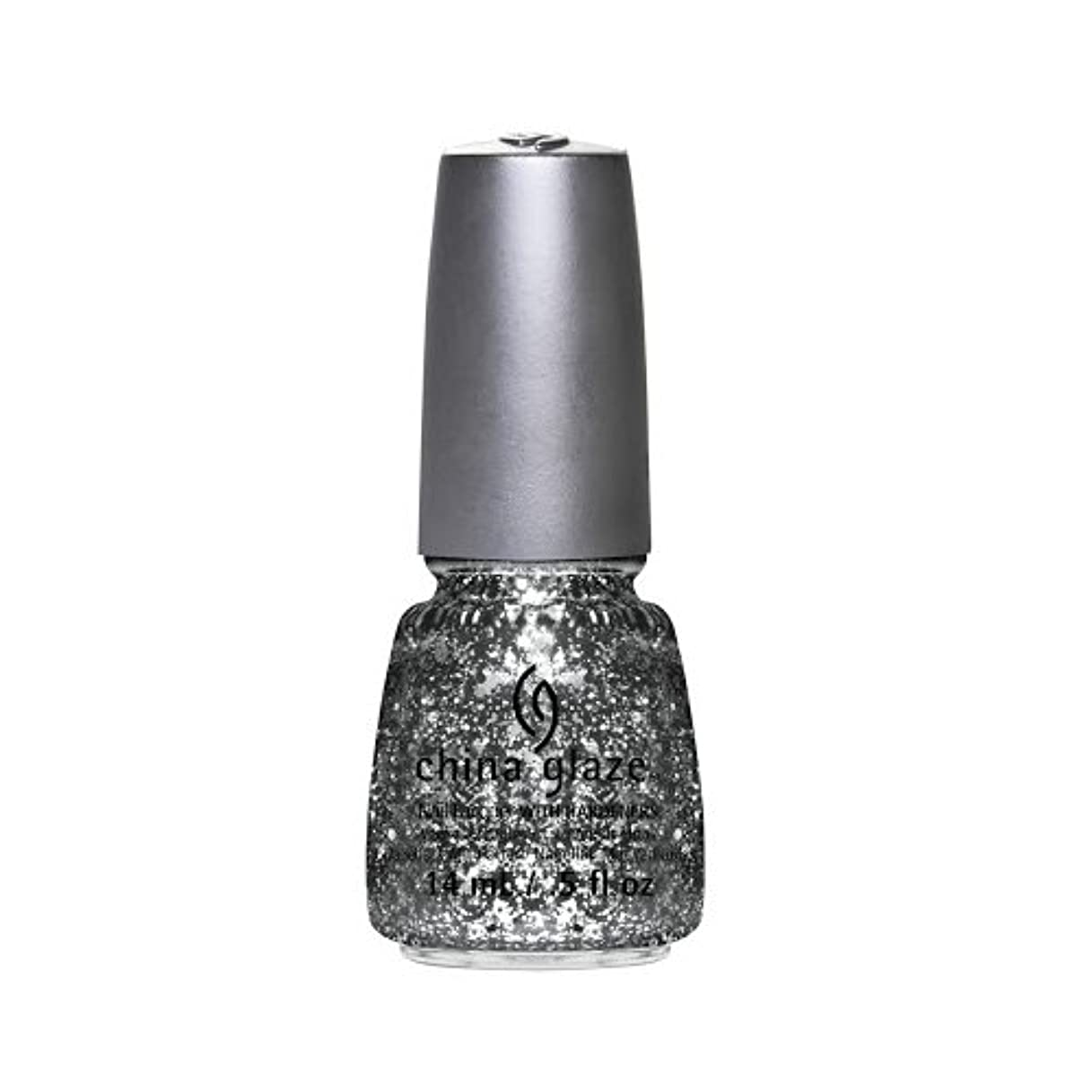 ペフホット広く(6 Pack) CHINA GLAZE Nail Lacquer - Glitz Bitz ?n Pieces Collection - Gltz'n Pieces (並行輸入品)