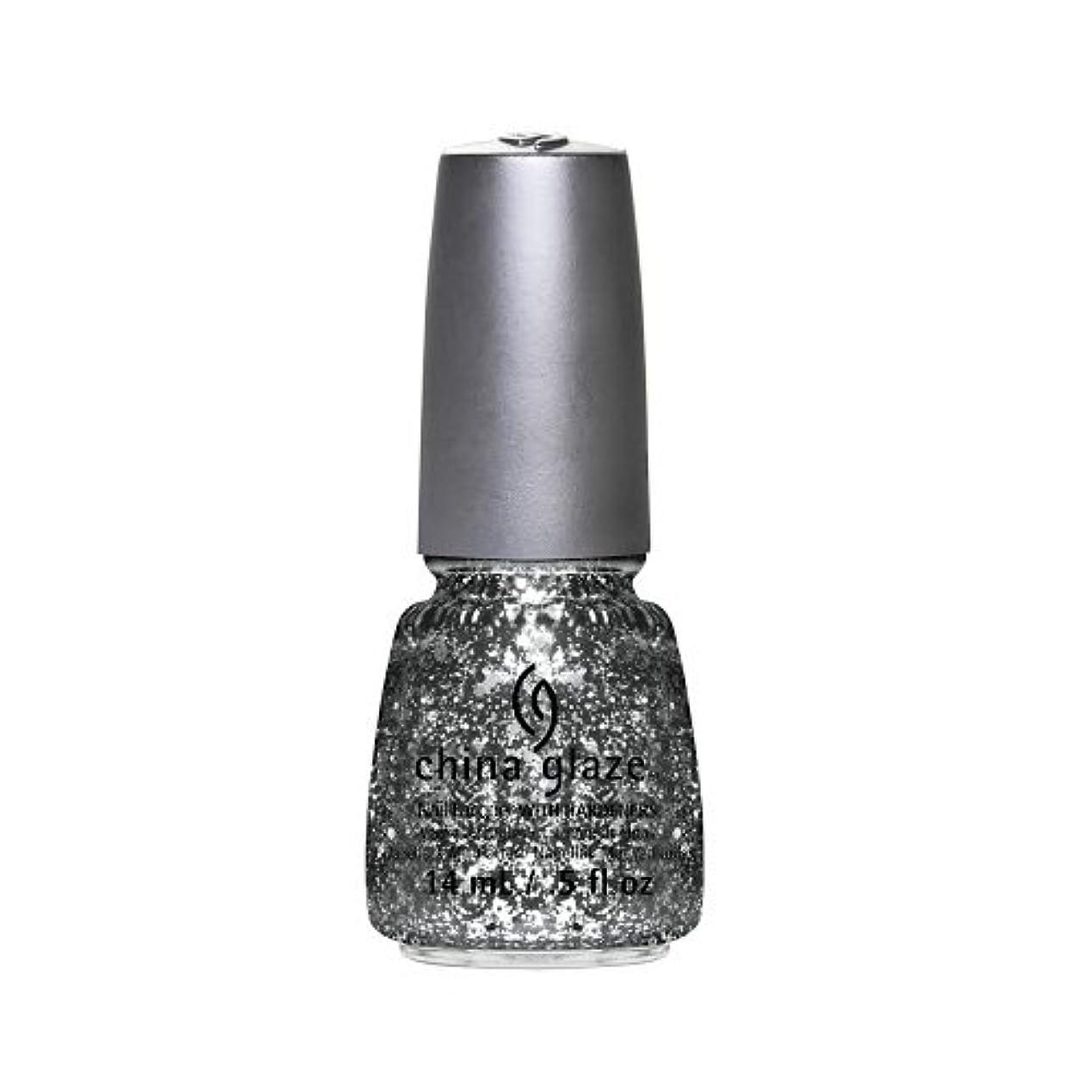 ビールヒロイン亜熱帯(6 Pack) CHINA GLAZE Nail Lacquer - Glitz Bitz ?n Pieces Collection - Gltz'n Pieces (並行輸入品)