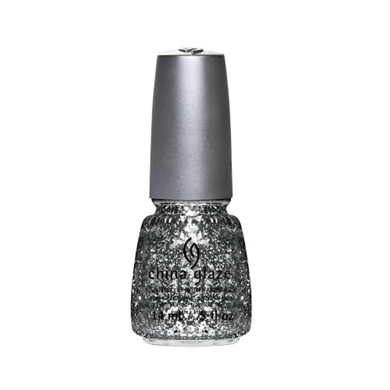 ストライド敷居快適(6 Pack) CHINA GLAZE Nail Lacquer - Glitz Bitz ?n Pieces Collection - Gltz'n Pieces (並行輸入品)