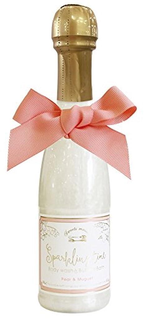 探す終わった勝利ノルコーポレーション 入浴剤 バブルバス スパークリングタイム ペア&ミュゲの香り 240ml OB-SMM-38-4
