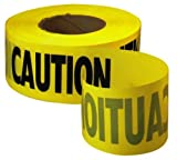 Empire Level 71-1001 1000-Feet by 3-Inch Caution Barricade Tape, Yellow [並行輸入品]