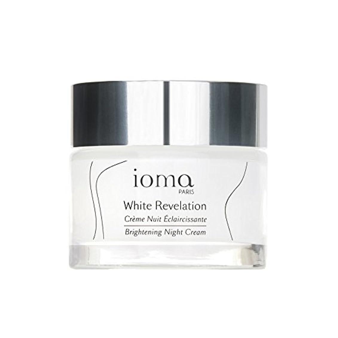 違反するコンソールハンドブックIoma Brightening Night Renewal Cream 50ml (Pack of 6) - ブライトニングナイトリニューアルクリーム50 x6 [並行輸入品]