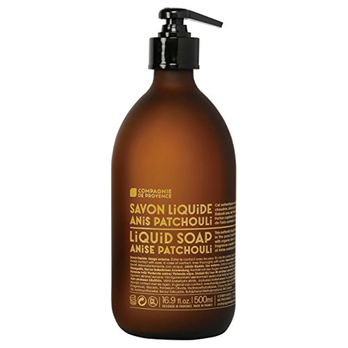 広告主湿度ジャズカンパニードプロバンス バージョンオリジナル リキッドソープ アニスパチュリ(魅惑的なスパイシーハーブの香り) 500ml