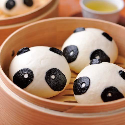 国産熊猫(パンダ)形豆沙包 あんまん 50g×25入 1袋