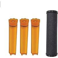 vtx-03r Refillシャワーフィルタカートリッジfor Vitamaxコンボsuf-300vtx、1 Carbomax & 3ビタミンCフィルター
