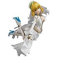 "RahリアルアクションヒーローズSaber Bride "" Fate / Extra CCC」1/ 6スケールABS & atbc-pvc Paintedアクションフィギュア"
