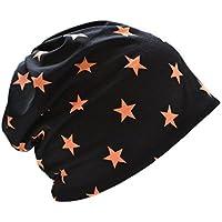 ナイトキャップ 日本製 コットン100% 帽子 スター 星 ホシ ルームキャップ 室内帽子 高級生地 おしゃれ キューティクル パサつき予防 抜け毛防止 柔らか素材 ねぐせ 寝癖