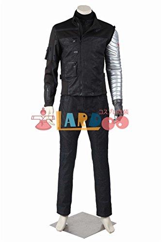 キャプテンアメリカ3 シビル ウォー ウィンター ソルジャー バッキー コスプレ衣装 コスチューム 忘年会 cosplay