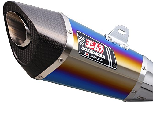 ヨシムラ(YOSHIMURA) バイクマフラー スリップオン R-11 サイクロン EXPORT SPEC 1エンド STB チタンブルーカバー GSR750(13-:ABS国内仕様/11-:EU仕様/ABS車両適合) 110-158-5E80B バイク オートバイ