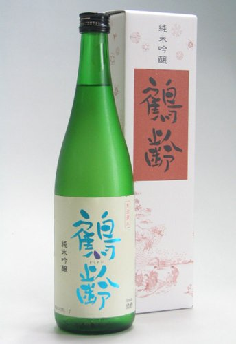 ☆【日本酒】鶴齢(かくれい)純米吟醸 720ml