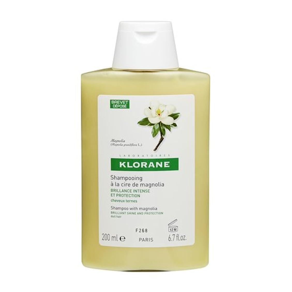 高齢者とティームコカインKlorane Shampoo Magnolia Wax 200ml [並行輸入品]