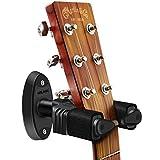 NEUMA ギターハンガー 壁掛け ギタースタンド 自動ロック 取付簡単 スクリュー付き
