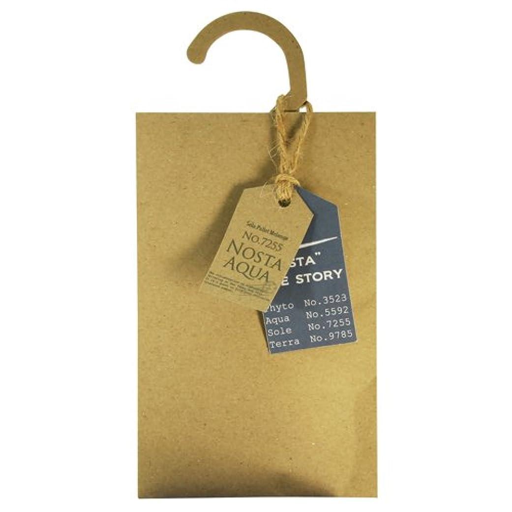 シネマ褐色ペンNosta ノスタ Fragranced Hanger Sachet ハンガーサシェ Aqua アクア / 生命の起源