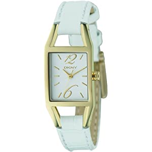 DKNY (ディーケーエヌワイ) 腕時計 ダナ・キャラン・ニューヨーク イエローゴールドIP シルバー NY9089 レディース