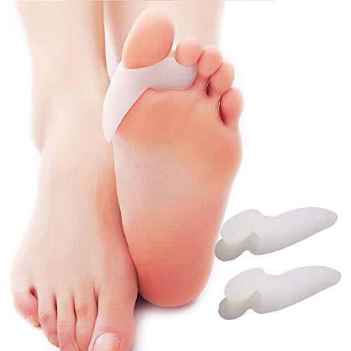外反母指 浮き指 矯正グッズ SUKWII 親指ジェルパッド 足 指 セパレーター 足の指 広げる あしゆびちゃん ないはんしょうし 矯正 左右セット