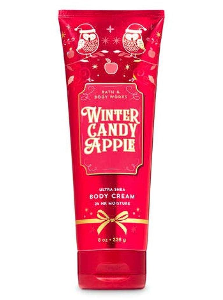軍隊彼彼バス&ボディワークス ウインターキャンディアップル ボディクリーム Winter Candy Apple Body Cream [並行輸入品]