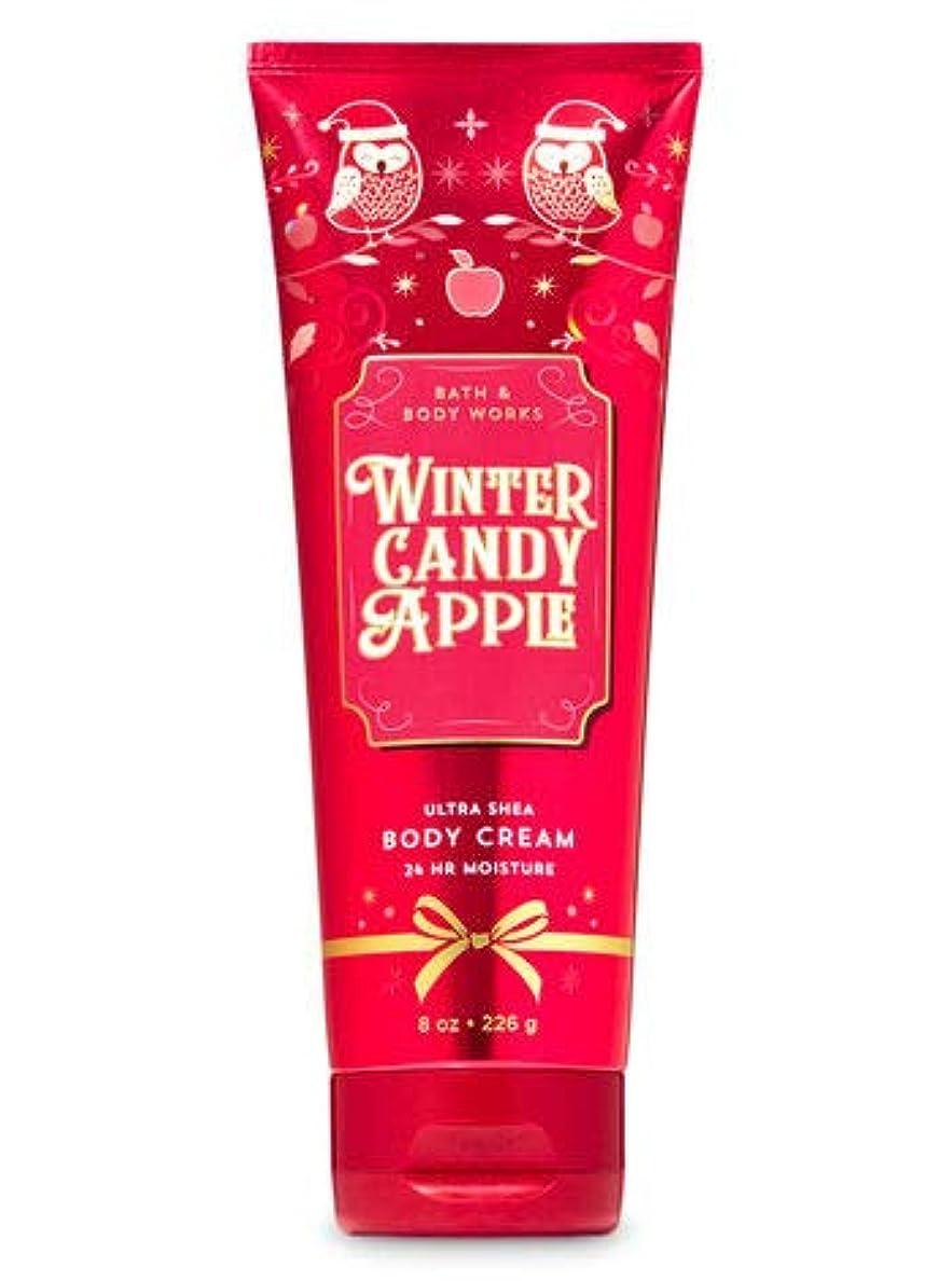 増強ベーシックする必要があるバス&ボディワークス ウインターキャンディアップル ボディクリーム Winter Candy Apple Body Cream [並行輸入品]