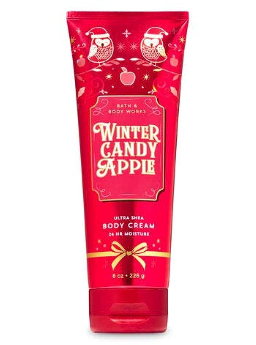 懲らしめルアー部バス&ボディワークス ウインターキャンディアップル ボディクリーム Winter Candy Apple Body Cream [並行輸入品]