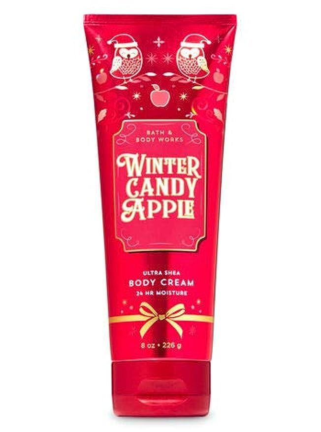 焦げ記念品盆バス&ボディワークス ウインターキャンディアップル ボディクリーム Winter Candy Apple Body Cream [並行輸入品]