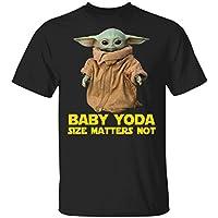 LeetGroupAU Baby Yoda The Mandalorian Size Matters Not T-Shirt